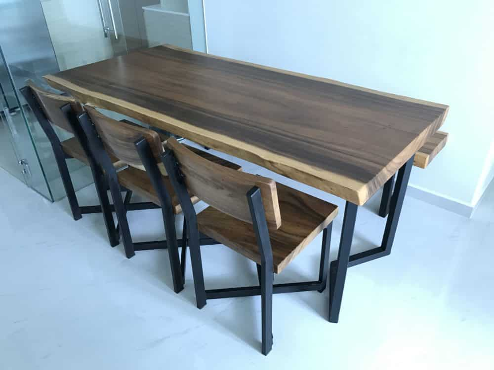 suar wood table singapore