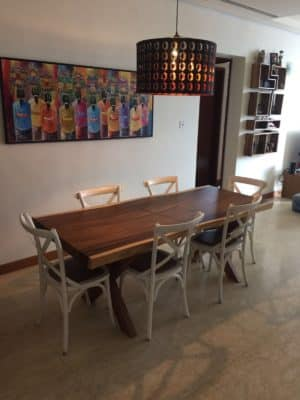 Wood Dining Table singapore