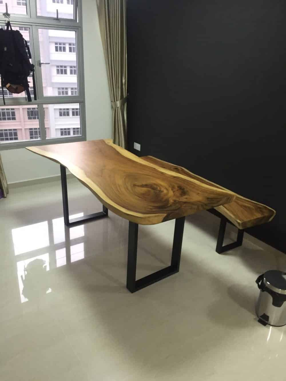 Solid Wood Table singapore