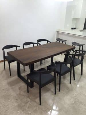 Walnut Table dining table singapore