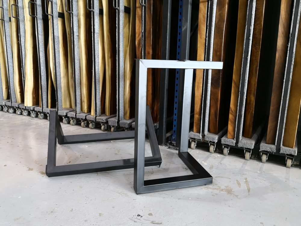 V Powder Coated Legs