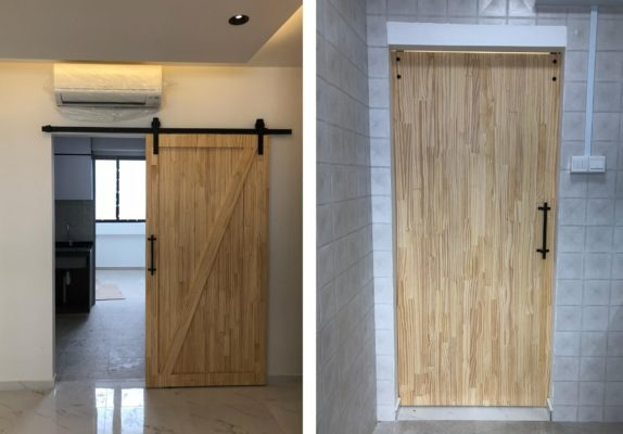 Barn Door Front & Back