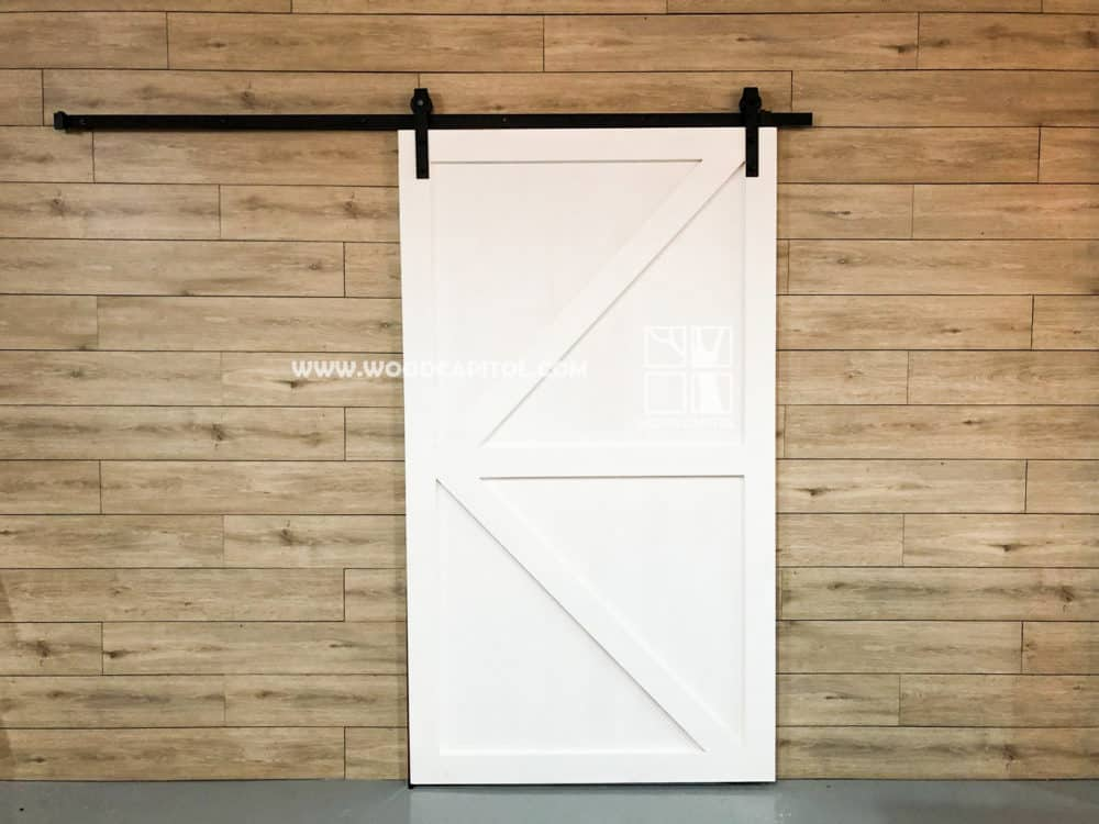 Wood Capitol Barn Door 4