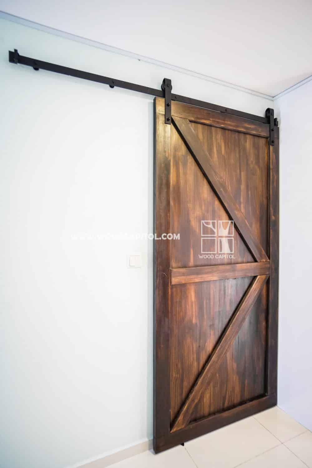 Wood Capitol Barn Door Singapore