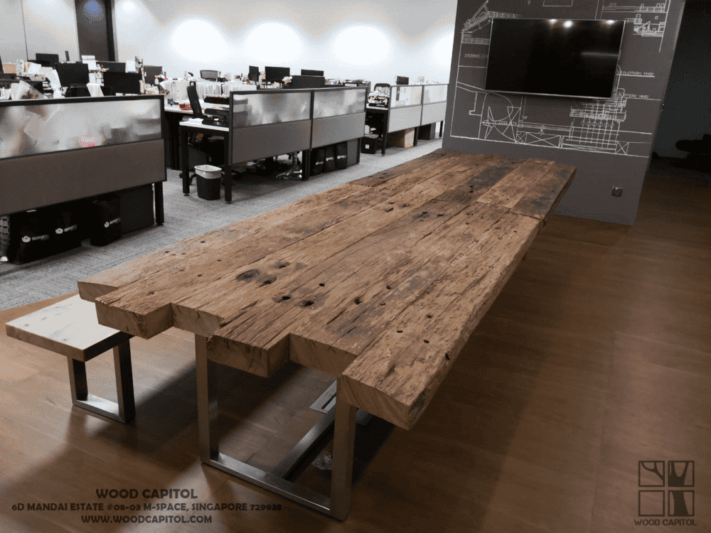 Wood Capitol Industrial Reclaimed Wood