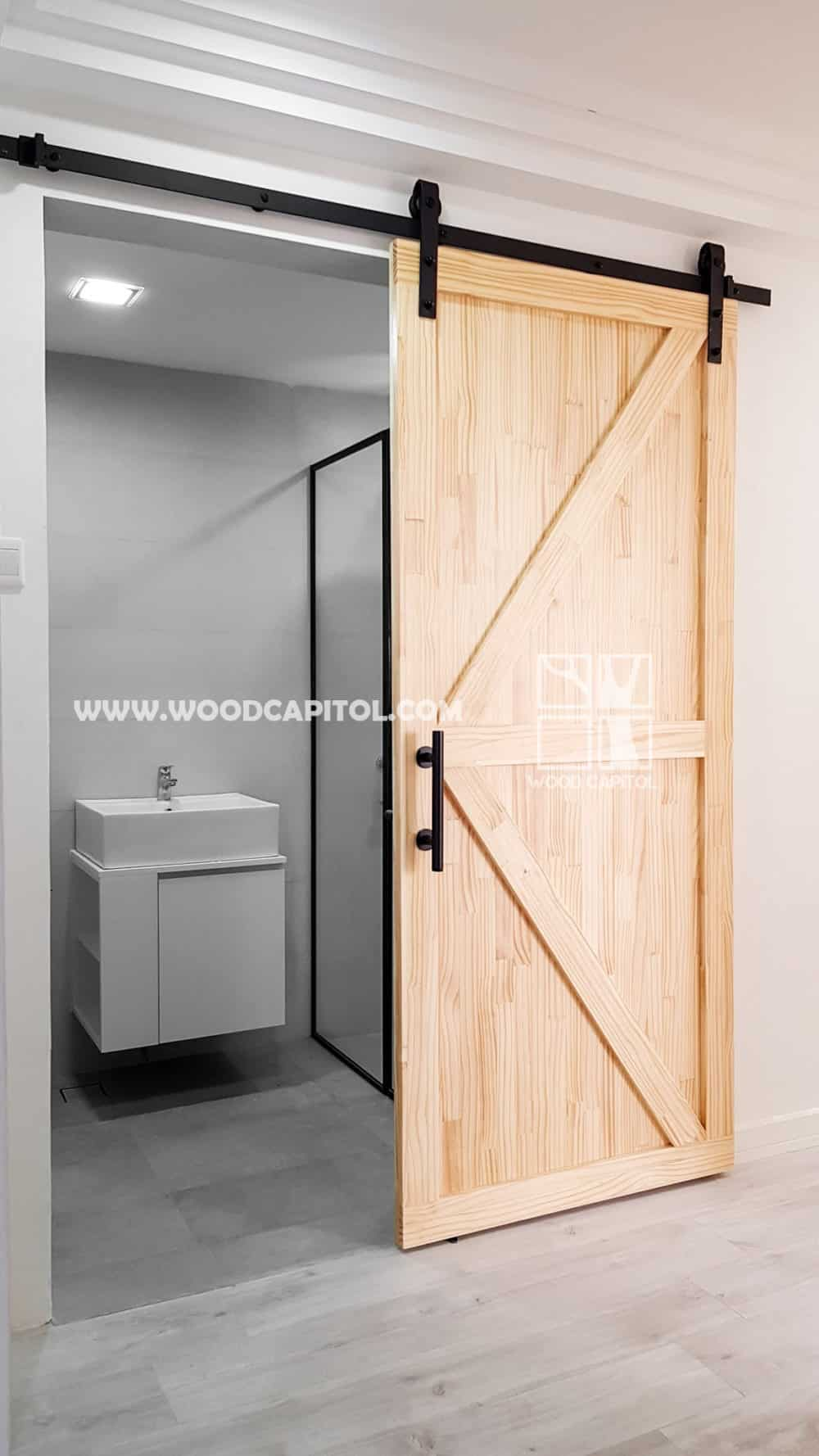 Wood Capitol Pine Wood Door
