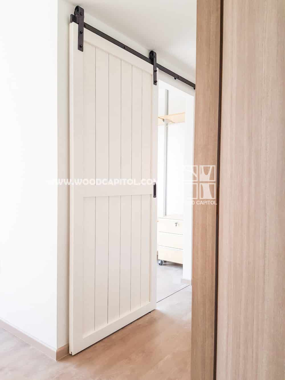 Wood Capitol Sliding Door