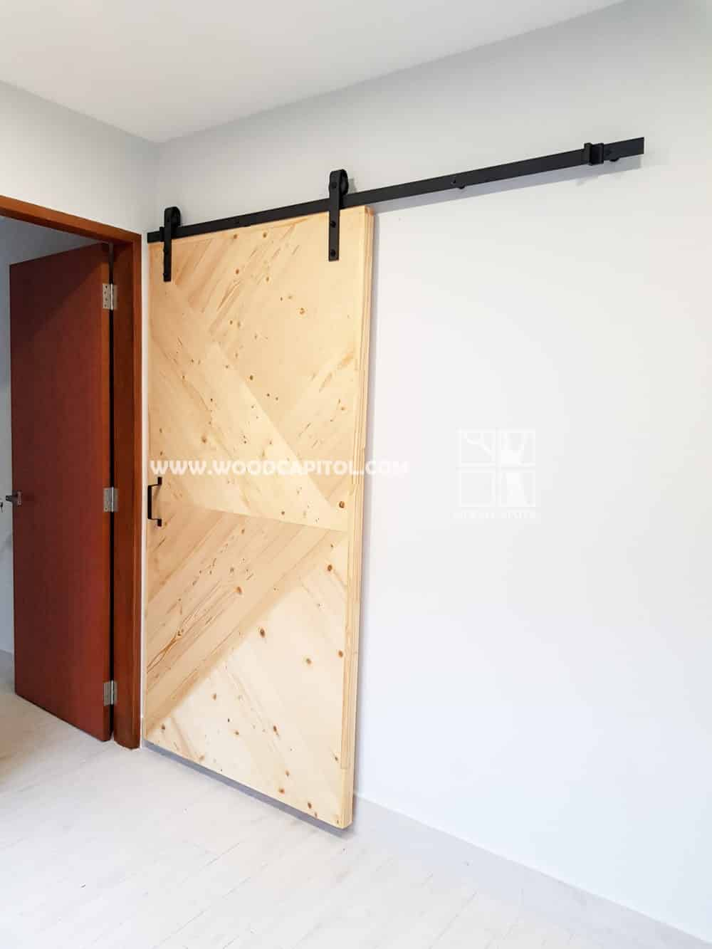 Wood Capitol Sliding Solid Wood Door 2