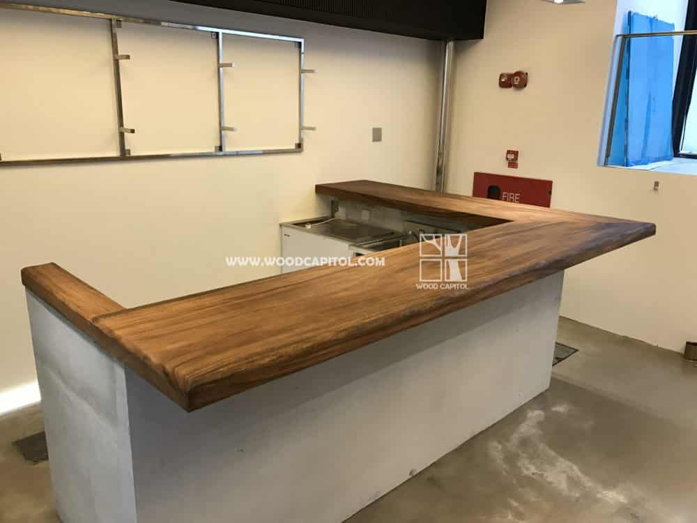 Wood Capitol Solid Wood Bar Counter 5