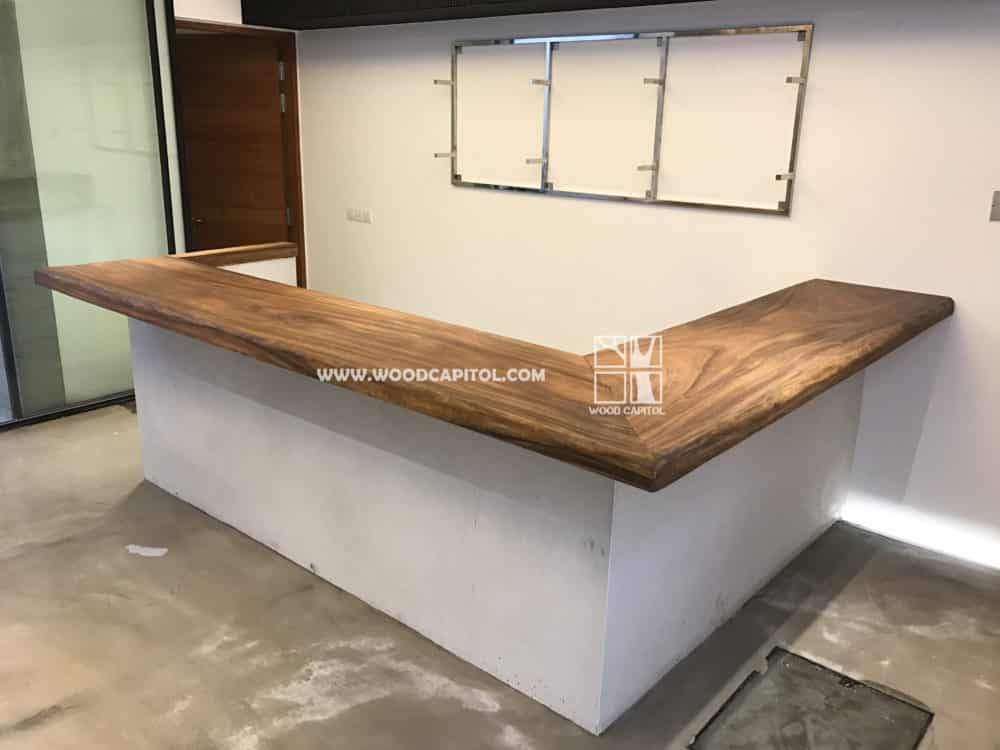 Wood Capitol Solid Wood Bar Counter 6