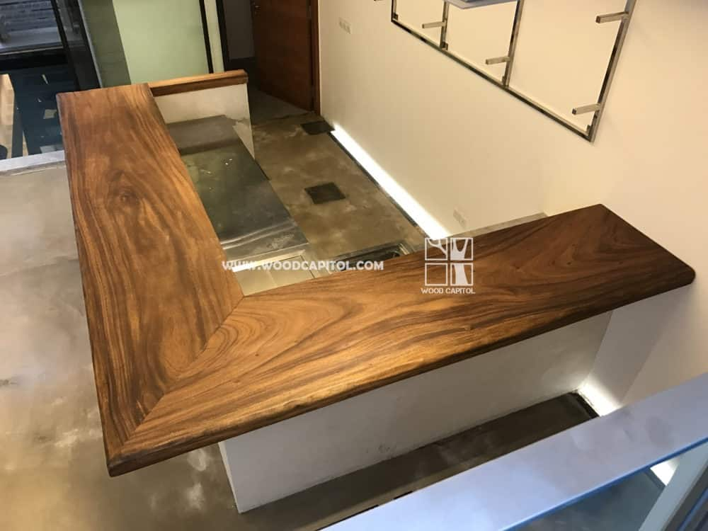 Wood Capitol Solid Wood Bar Counter 7