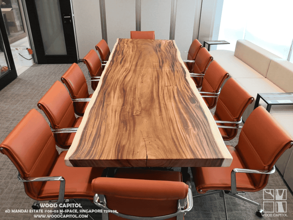 Wood Capitol Solid Wood Boardroom Table