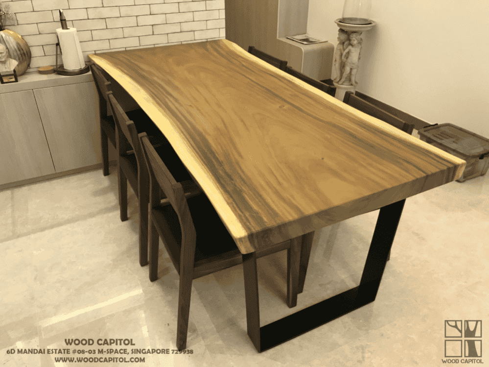 Wood Capitol Solid Wood Dining Table