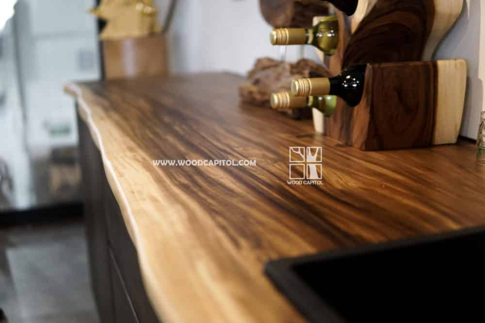 Wood Capitol Solid Wood Kitchen Counter Top 5