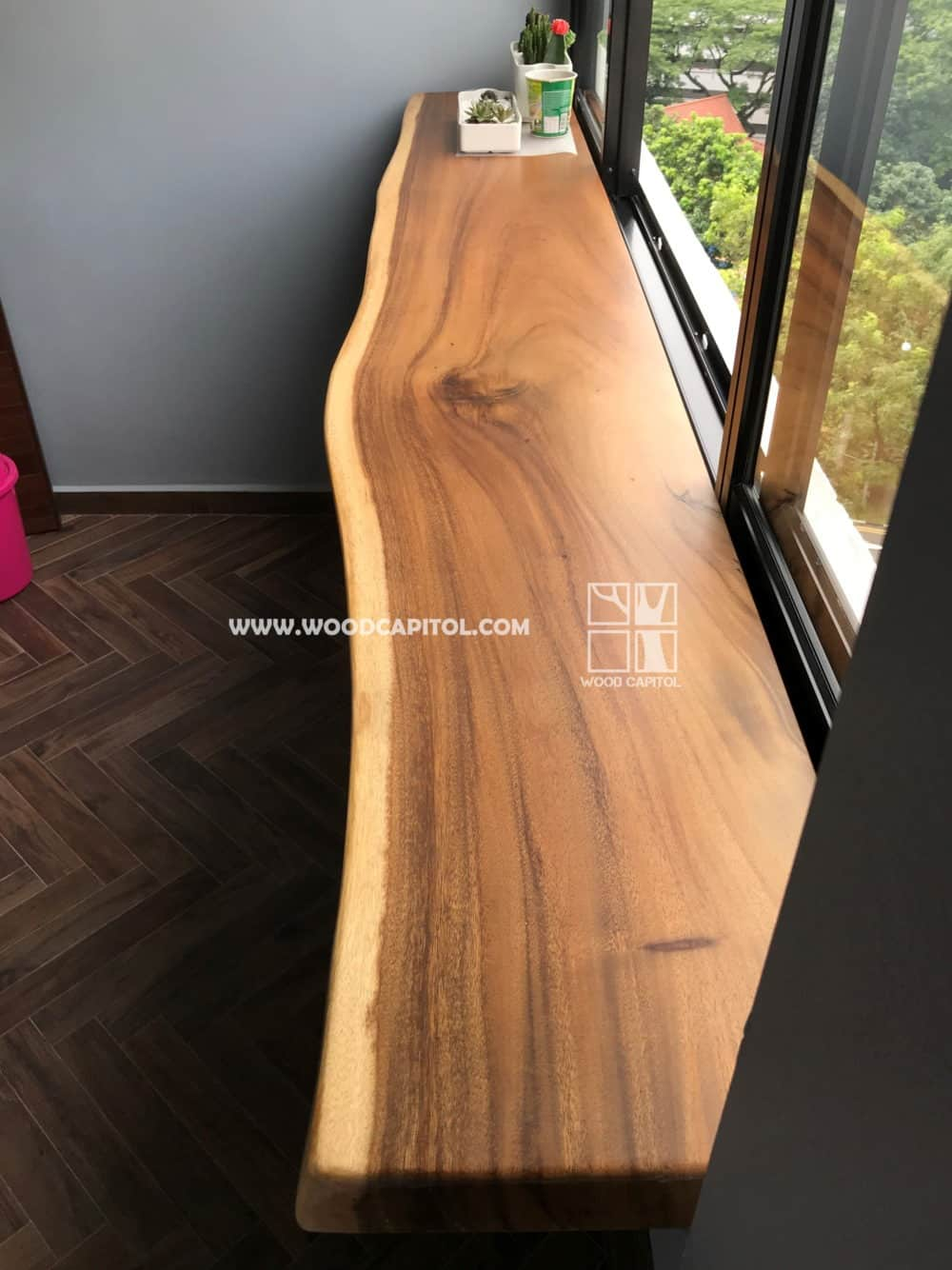 Wood Capitol Suar Wood Window Ledge 2