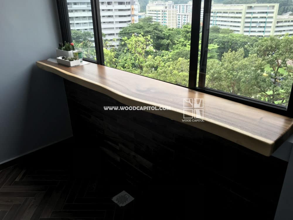 Wood Capitol Suar Wood Window Ledge