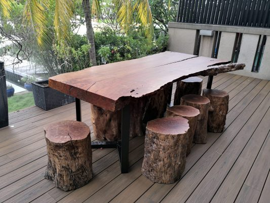 Outdoor Solid Wood Table