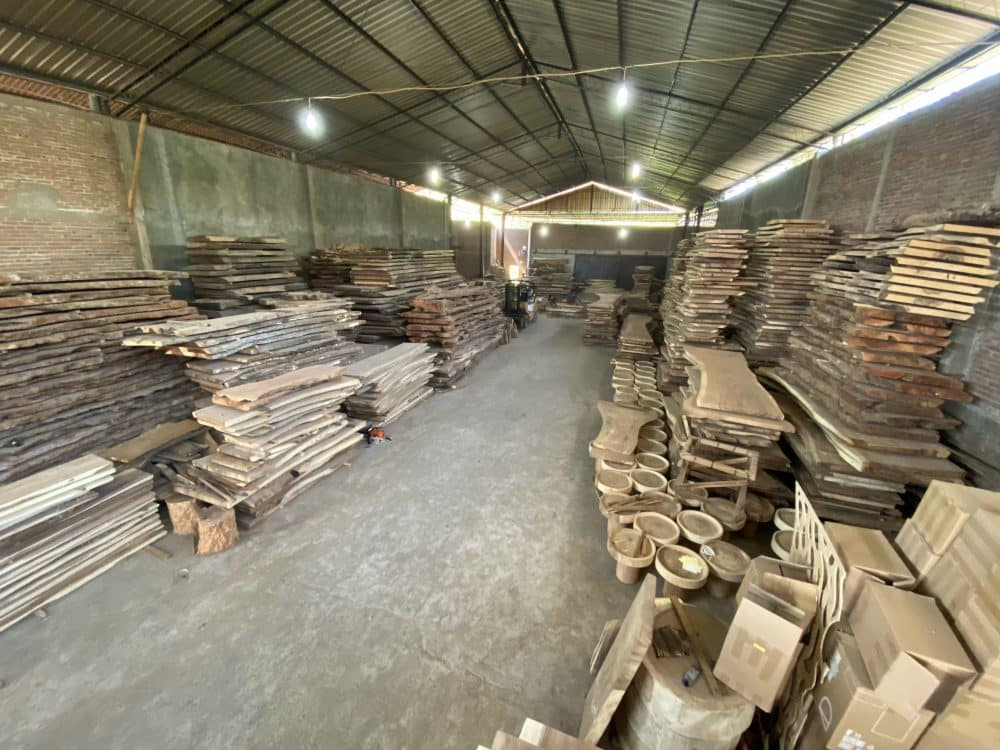 Indonesia Wood Slab Supplier